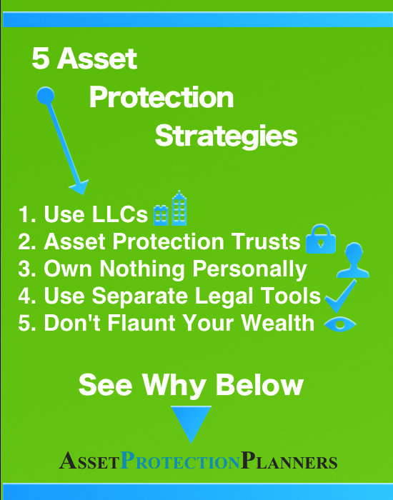 5 asset protection strategies