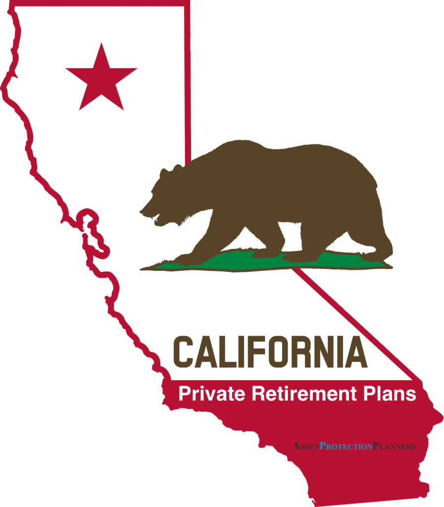 California Private Retirement Plans