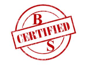certified b.s.