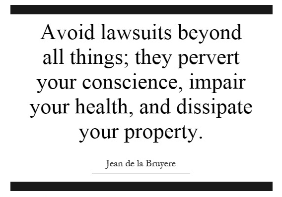avoid lawsuits