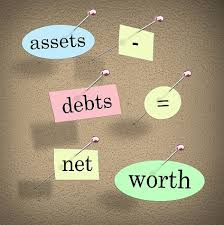 assets debts net worth