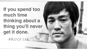 Plan and Action Bruce Lee