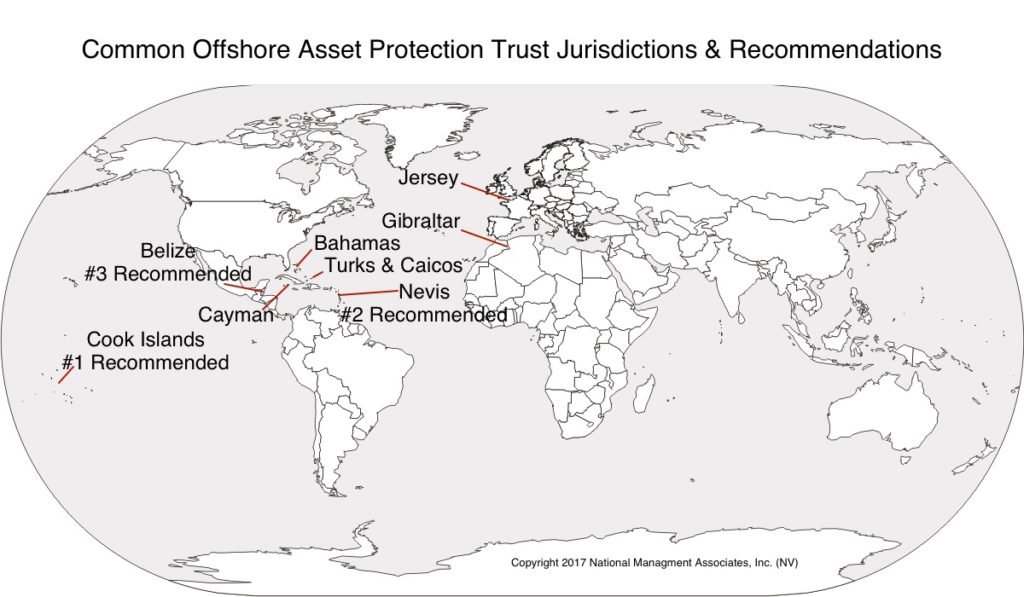 asset protection trust jurisdictions