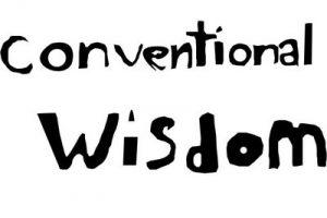 conventional wisdom