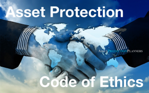 asset protection code of ethics
