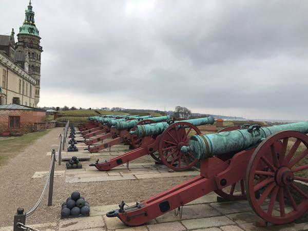 castle cannons