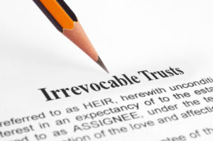 irrevocable trust agreement