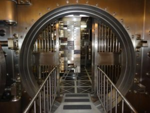 offshore bank vault