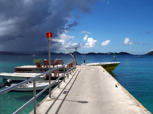 offshore boat dock