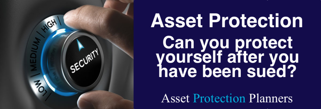 asset protection after a lawsuit