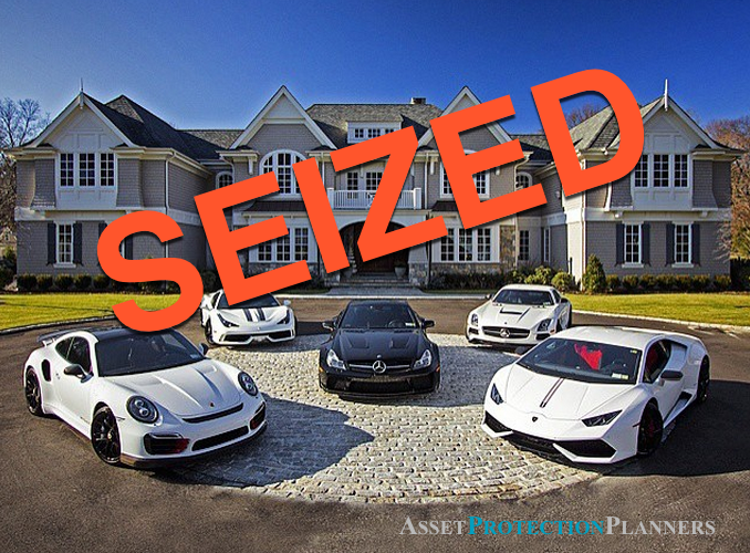 assets that can be seized