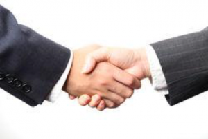 setting up a trust handshake