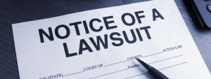 lawsuit notice