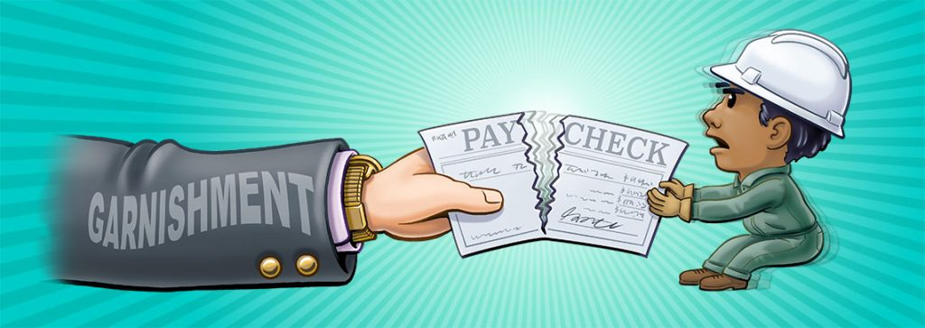 wage garnishment by state and territory