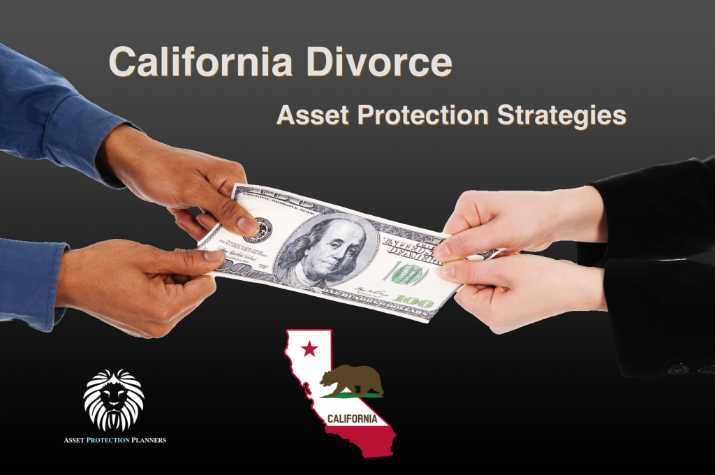 California Divorce Asset Protection