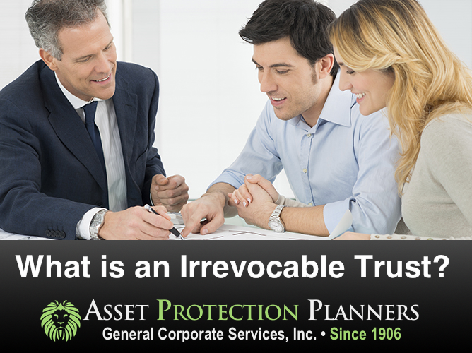 What is an irrevocable trust
