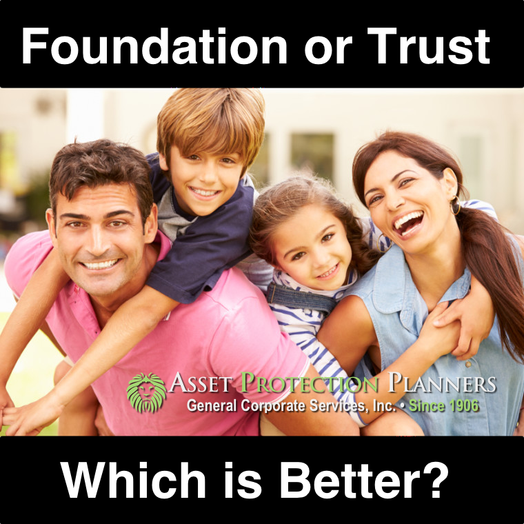Foundation vs. Trust Which is Better