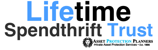 lifetime spendthrift trust