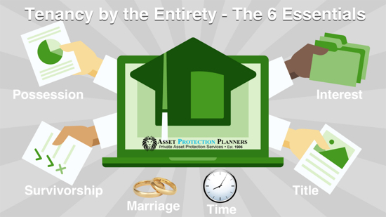tenancy by the entireties essential elements